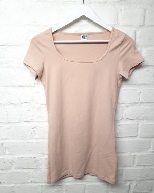 T-Shirt Basic Nude Puder Vero Moda Gr. M