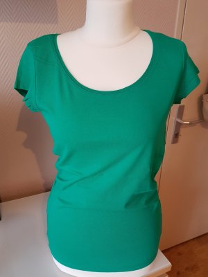 T-Shirt basic smaragdgün Gr. S