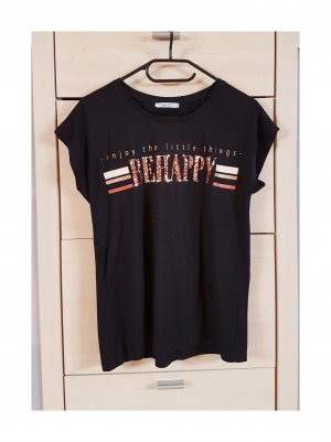 "T-Shirt ""BE HAPPY"" Größe S"