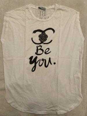 Be You Oversized Shirt white