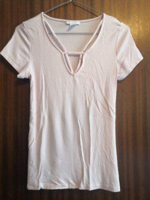 Amisu Camiseta rosa claro