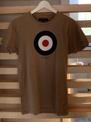 T-Shirt Ben Sherman Medium beige blau weiß rot