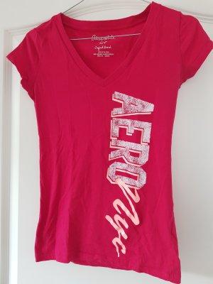Aeropostale Camiseta rojo frambuesa