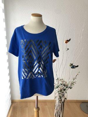 Converse T-shirt blu