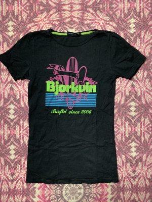 Björkvin Print Shirt black