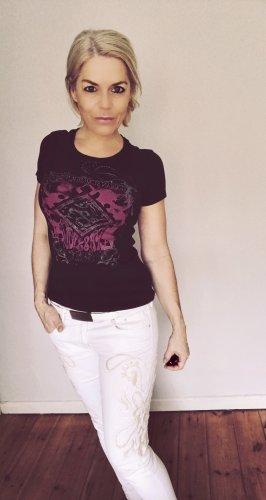 T-Shirt Black mit Print