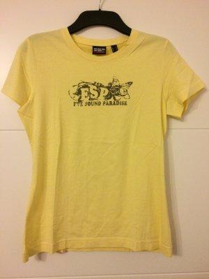 T-Shirt blassgelb Gr. M *NEU* Esprit