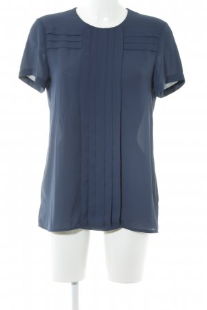 T-Shirt blau klassischer Stil