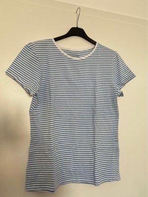 T-Shirt blau-weiß von Primark