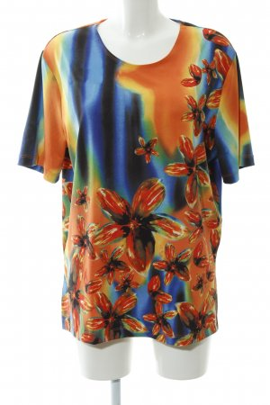 In-Print T-Shirt Blumenmuster Hippie-Look