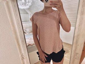 Abercrombie & Fitch Camicetta a maniche corte bianco-rosa pallido