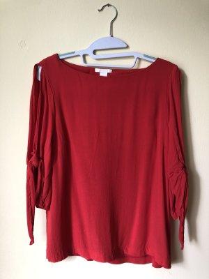 H&M Blusa estilo Crash rojo