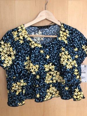 T-Shirt Bluse mit Floral-Print