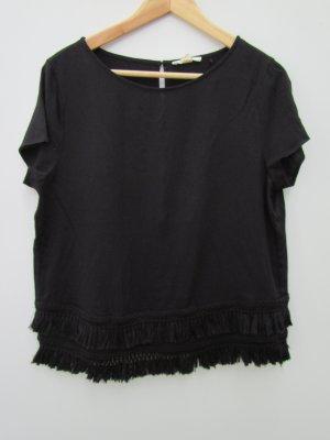 Esprit Cropped shirt zwart