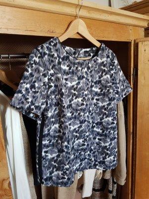 T-Shirt Bluse von Oui mit abstraktem Muster