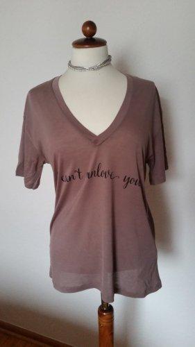 T-Shirt Braun NEU Gr. S 36/38