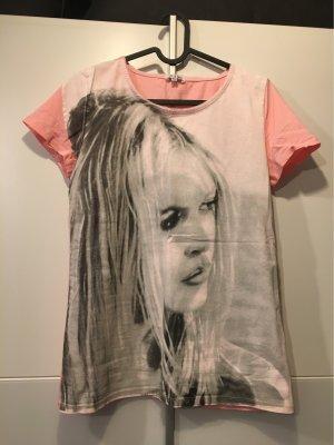 Brigitte Bardot Print Shirt pink-light pink
