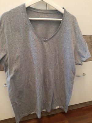 Primark T-shirt col en V bleu pâle