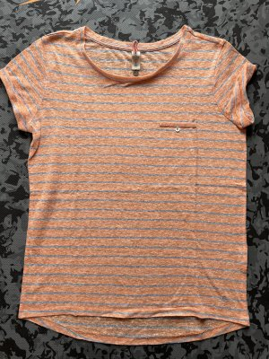 Campus by Marc O'Polo T-shirt gris clair-orange clair