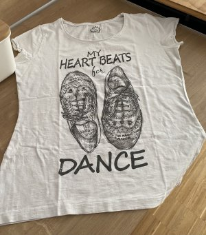 Colins T-shirt bianco-nero