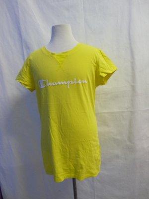 Champion Camisa deportiva amarillo Algodón