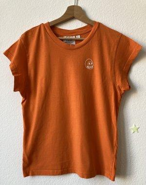 Cheap Monday Basic Shirt orange cotton