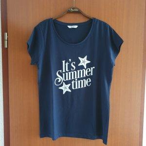 Zabaione T-shirt blu scuro