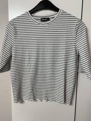 Tally Weijl T-shirt rayé noir-blanc