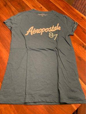Aeropostale Print Shirt cadet blue