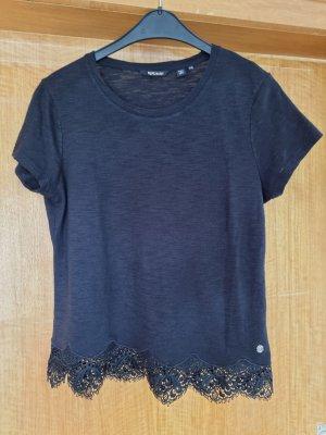 Superdry T-shirt nero-antracite