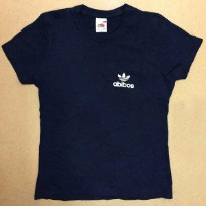 T-Shirt Damen mit Aufdruck, Gr. S