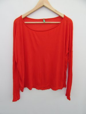 Benetton Top extra-large rouge