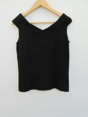 T-Shirt Damen Vintage Retro schwarz Gr. M