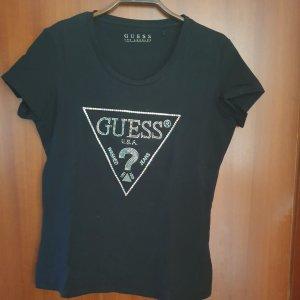 Guess T-shirt czarny