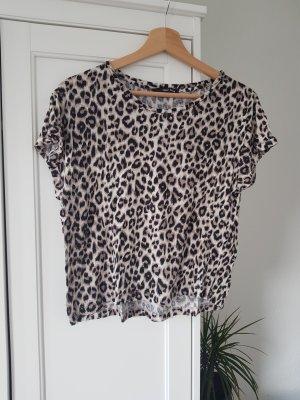 Tally Weijl T-shirt marrone-grigio