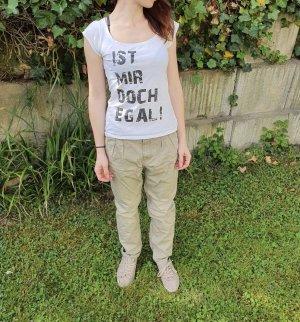 T-shirt bianco-nero