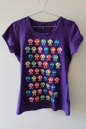 Fishbone T-shirt multicolore