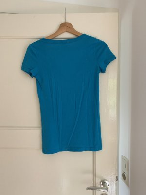 Abercrombie & Fitch T-Shirt yellow-neon blue