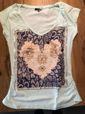 Dept T-shirt turchese