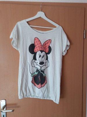 Disney T-Shirt white-black