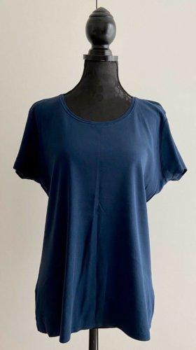 Yessica Basic Shirt blue mixture fibre