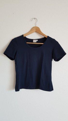 T Shirt dunkelblau Größe S