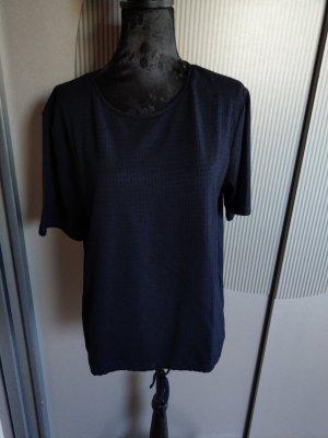 T-Shirt dunkelblau Opus