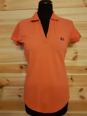 Polo shirt zalm