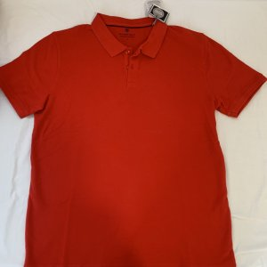 Basefield Polo rosso