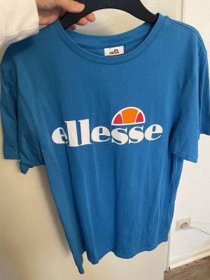 Ellesse T-shirt blu acciaio