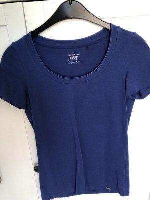 T-shirt Esprit Collection blau königsblau