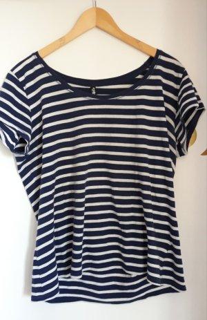 Colours of the World Stripe Shirt white-blue