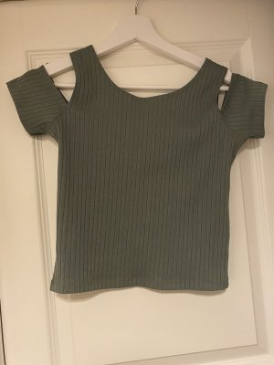 FB Sister One Shoulder Shirt ocher