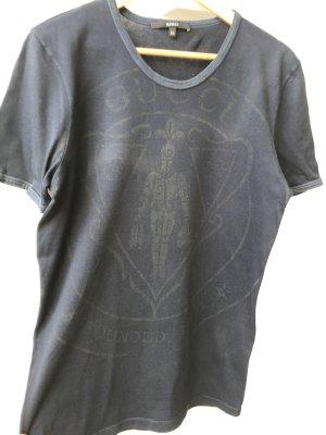 Gucci T-shirt bleu foncé